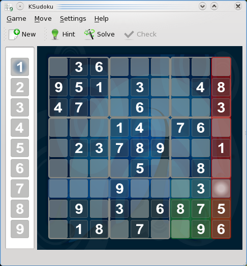 The new sudoku game