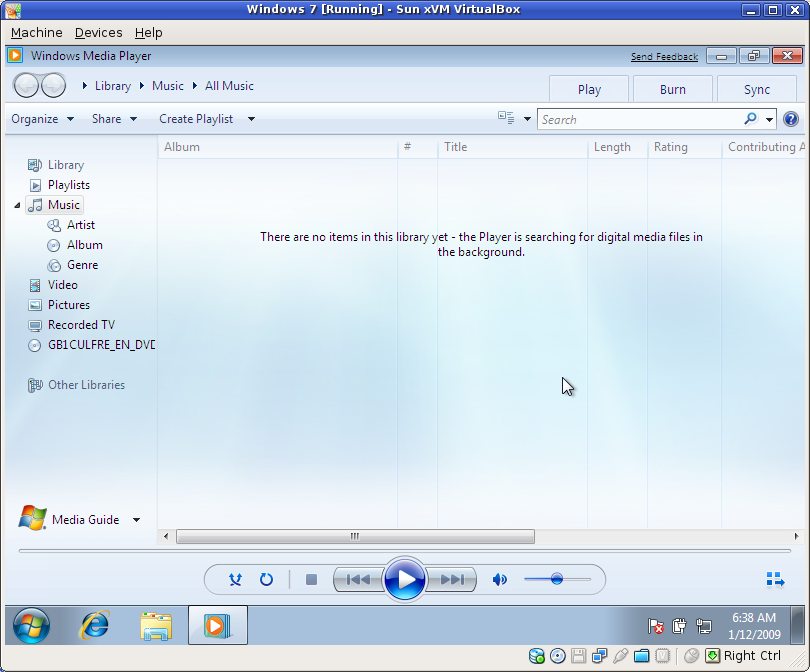 The new Windows Media Player